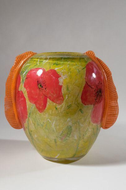 Jean-Claude NOVARO (1943-2015) Vase de forme...