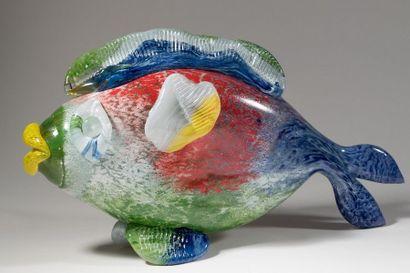 Jean-Claude NOVARO (1943-2015) Sculpture-poisson...