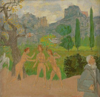 Grégoire MICHONZE (1902-1982) Les Trois grâces,...