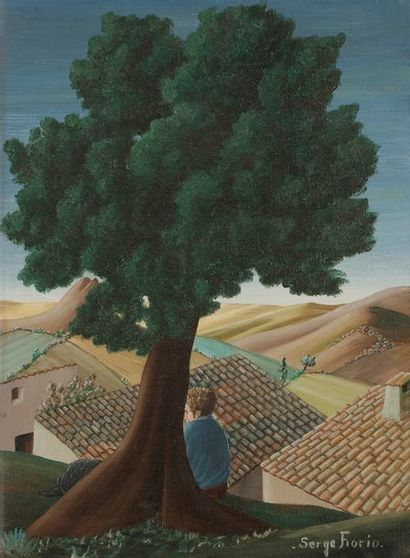 Serge FIORIO (1911-2011) L'Ouberle, 1974...