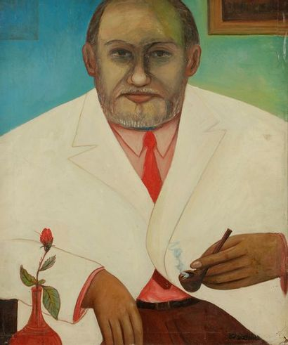 Ferdinand DESNOS (1901-1958) Portrait de...