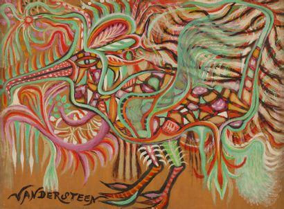 Germain VAN DER STEEN (1897-1985) La Dinde...