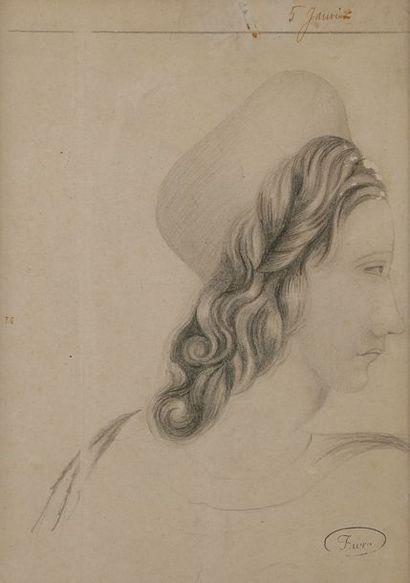 MADAME FAVRE (Active au XIXe siècle) Jeune...