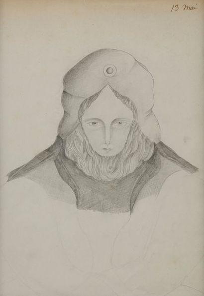 MADAME FAVRE (Active au XIXe siècle) Portrait...
