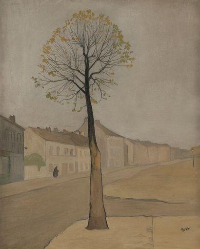 Joseph ROSSI (1892-1930) La Route de toujours...