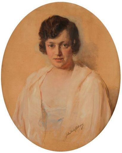 John Quincy ADAMS (1874-1933) Portrait de...