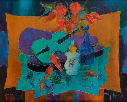 Tony AGOSTINI (1916-1990) La Lampe blanche...