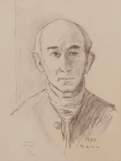 Benejou Rabinowicz dit BENN (1905-1989) Portrait...