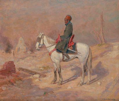 Jean Jacques BERNE-BELLECOUR (1874-?) Cavalier...
