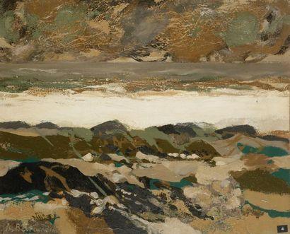 Jean-Claude BERTRAND (1928-1987) Ocean I...