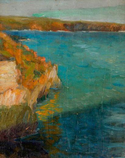 Pierre BERTRAND (1884-1975) Les Rochers de...