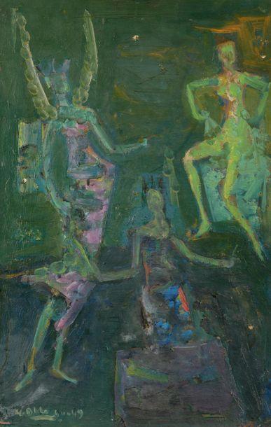 Yvette ALDE (1911-1967) La Danse, 1944-49...