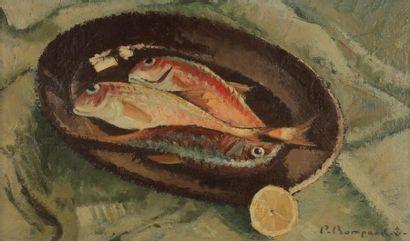 Pierre BOMPARD (1890-1962) Les Rougets, 1954...