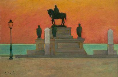 Paul CASILE (XIX-XXe siècle) Ajaccio, la...