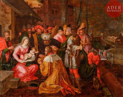 École FLAMANDE du XVIIe siècle, atelier de...