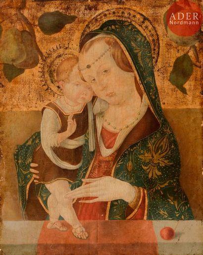 Dans le goût de Carlo CRIVELLI Vierge à l'Enfant...