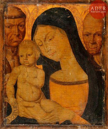 Dans le gout de Neroccio da LANDI Vierge...