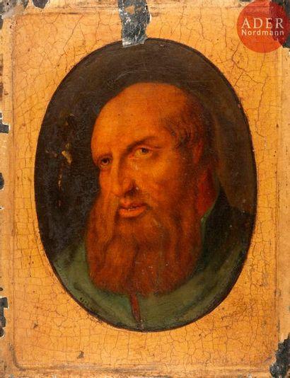 Dans le goût de la Renaissance FLAMANDE Portrait...