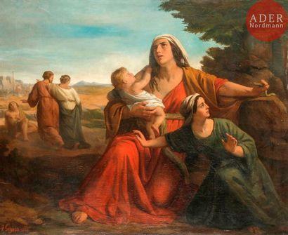 Antoine GOYERS (Malines 1829 - Douvres 1869)...