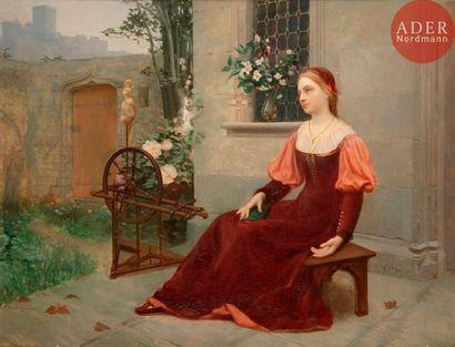 Auguste RAYNAUD (Lyon 1854 ou 1855 - 1937)...
