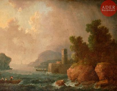 Attribué à Francesco FIDANZA (1749 - 1819)...