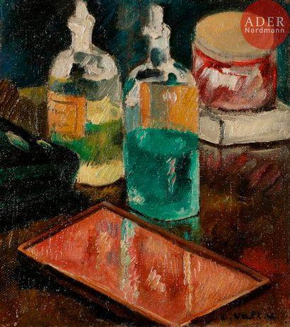 *Louis VALTAT (1869-1952) Nature morte aux...