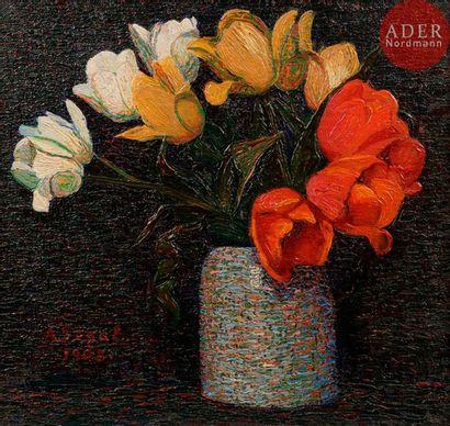*Arthur SEGAL (1875-1944) Les Tulipes, 1908...