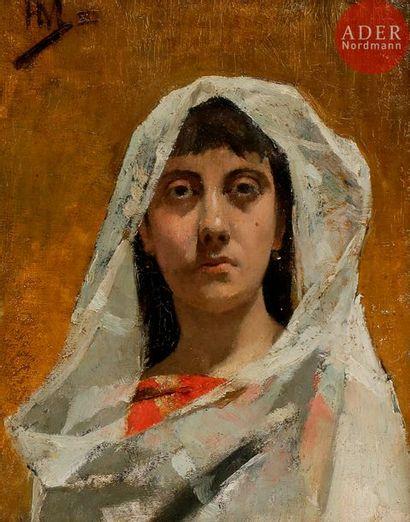 Henri MARTIN (1860-1943) Portrait de la femme...