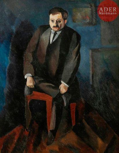 *Moïse KISLING (1891-1953) Portrait d'Adolphe...