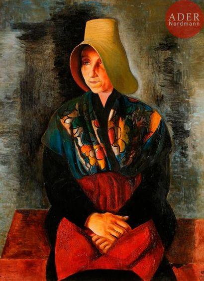 *Moïse KISLING (1891-1953) La Provençale...