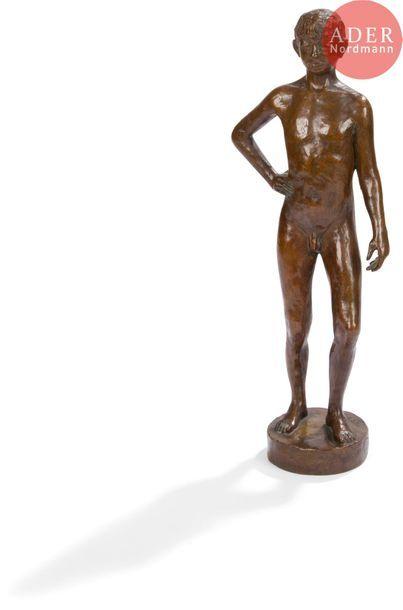 *Othon COUBINE (1883-1969) L'Adolescent Epreuve...