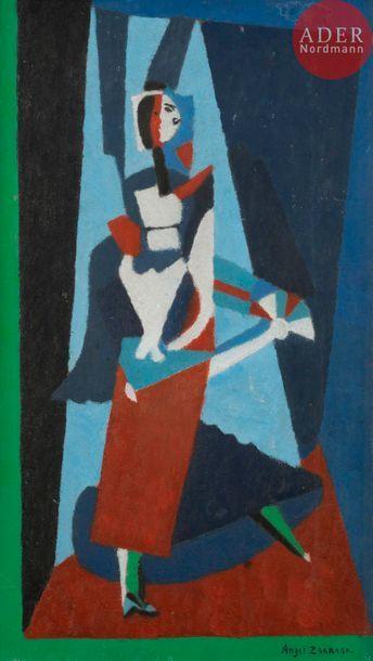 Angel ZARRAGA (1886-1946) La Danseuse de...