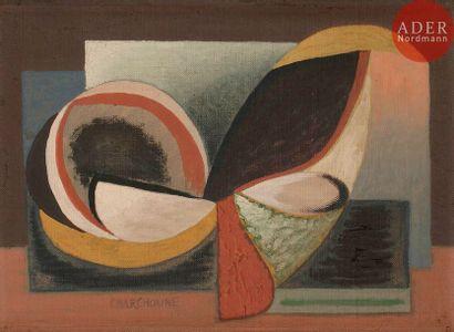 Serge CHARCHOUNE [russe] (1888-1975) Composition,...