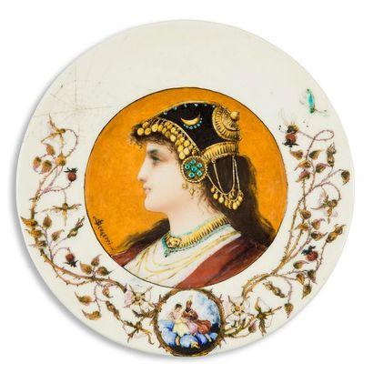 THÉODORE DECK (1823-1891) CÉRAMISTE & SOPHIE...