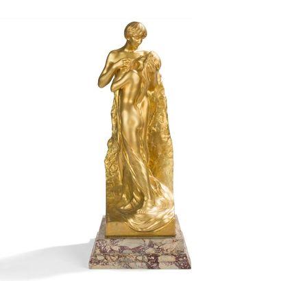 LÉON NOËL DELAGRANGE (1872-1910) SCULPTEUR...
