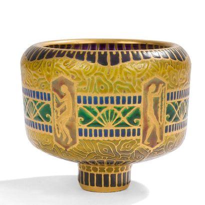 AUGUSTE HEILIGENSTEIN (1891-1976) Nus antiques...