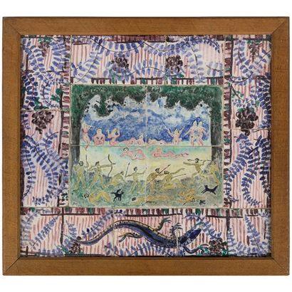 Jean PUY (1876-1960) Peintre & André METTHEY...
