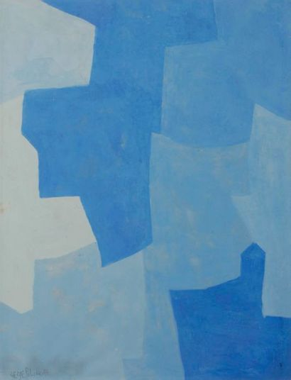 Serge POLIAKOFF [russe] (1900-1969) Composition...