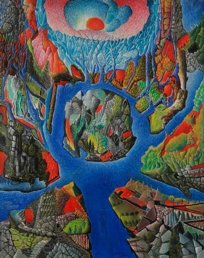 Aristide CAILLAUD (1902-1990) Composition,...