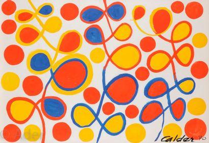 Alexandre CALDER (1898-1976) Illuminée, 1970...