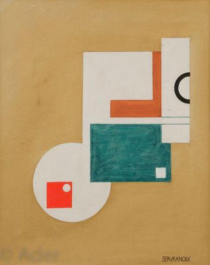 Victor SERVRANCKX [belge] (1897-1965) Composition,...