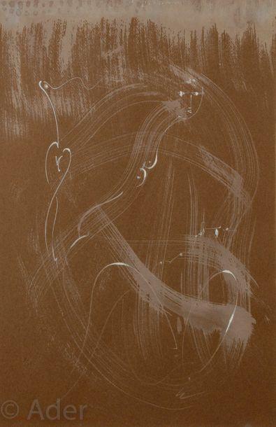 André MASSON (1896-1987) Ondines, 1957 Gouache....