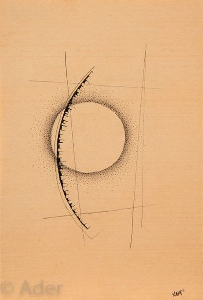 Léon TUTUNDJIAN [arménien] (1906-1968) Composition...