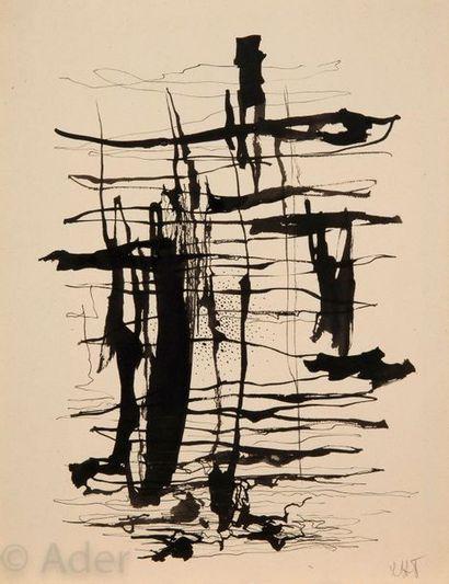 Léon TUTUNDJIAN [arménien] (1906-1968) Composition,...