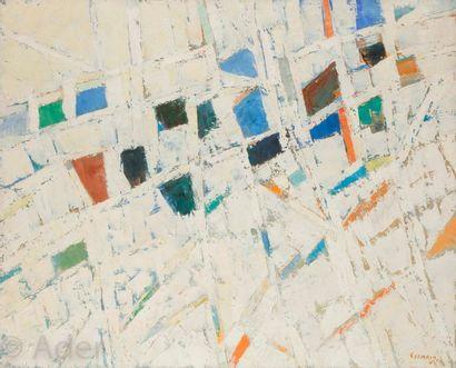 Jacques GERMAIN (1915-2001) Composition,...