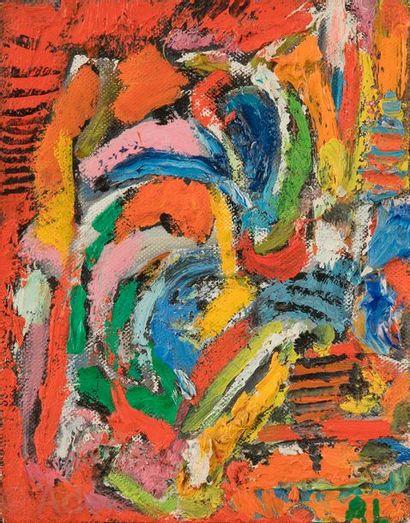André LANSKOY [russe] (1902-1976) Composition,...
