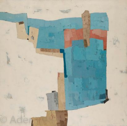 Pierre LEMAIRE (1920-2007) Nostalgie du blanc...