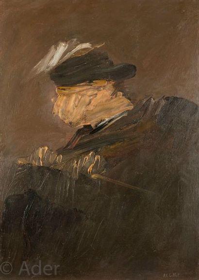 Roger Edgar GILLET (1924-2004) Le Torero,...