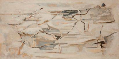 Arpad SZENES [hongrois] (1897-1985) Paysage,...
