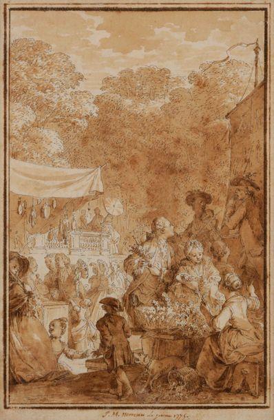Jean Michel MOREAU le jeune (Paris 1741 -...
